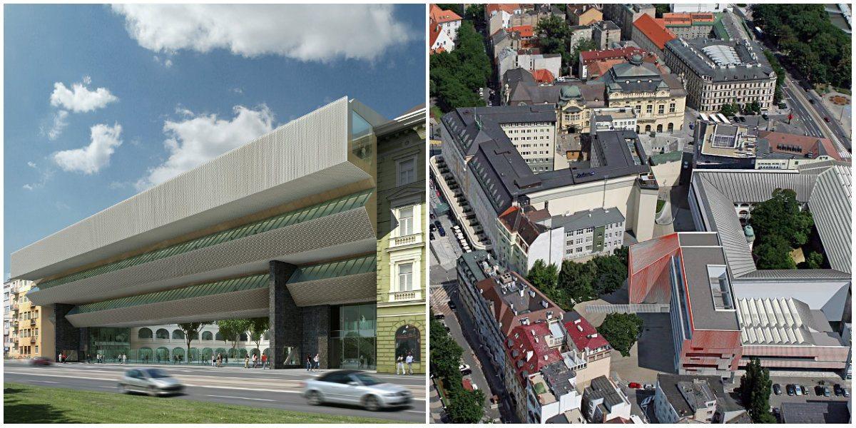 cf4a30204 Slovenská národná galéria ako dominanta Bratislavy. Toto sa už stihlo urobiť