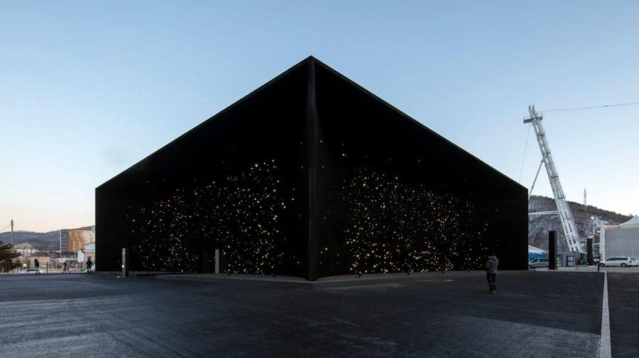 Najčernejšia budova na svete