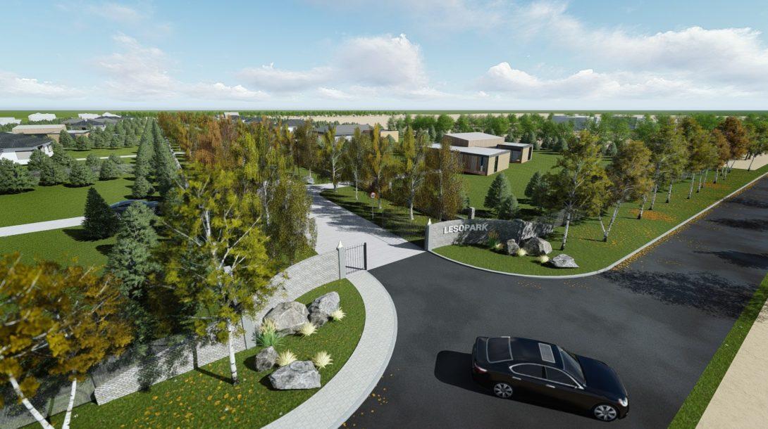 Budúci Lesopark Kvetoslavov