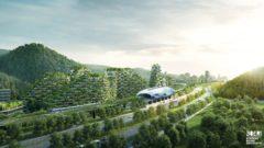Zelené mesto Liuzhou v Číne má vyzerať takto