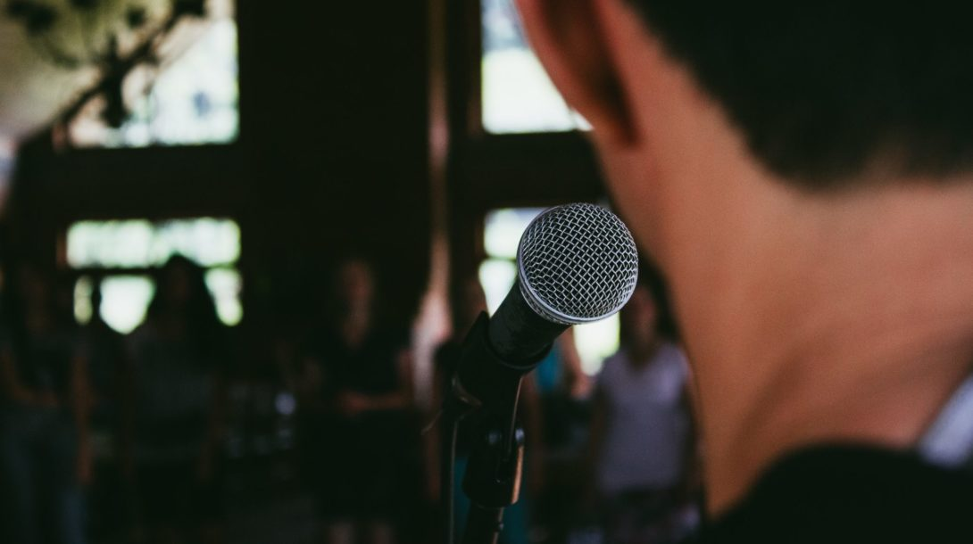 Strach z verejného prejavu