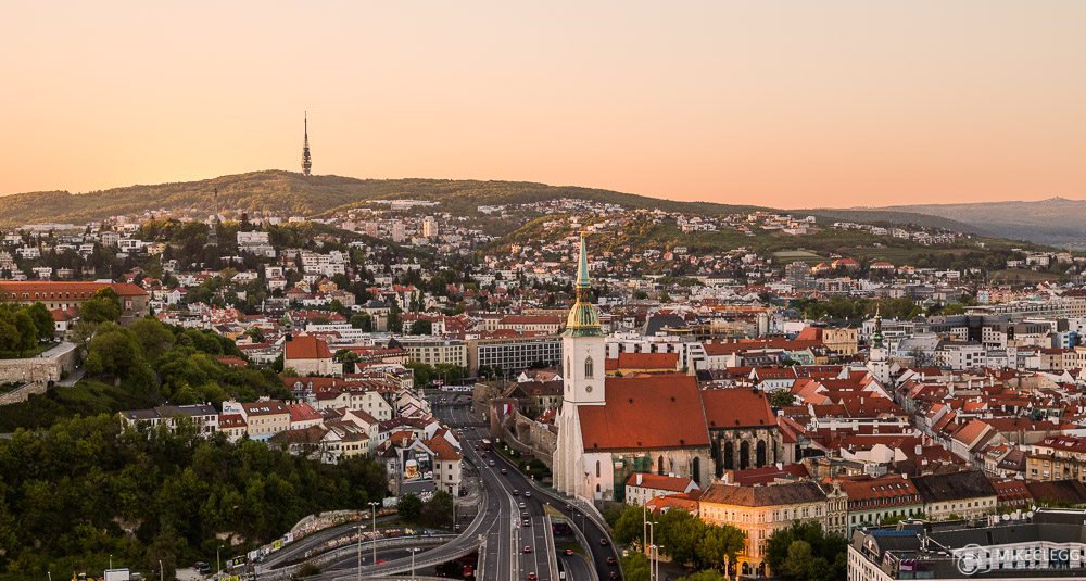 bratislava-from-the-ufo-tower-at-sunset