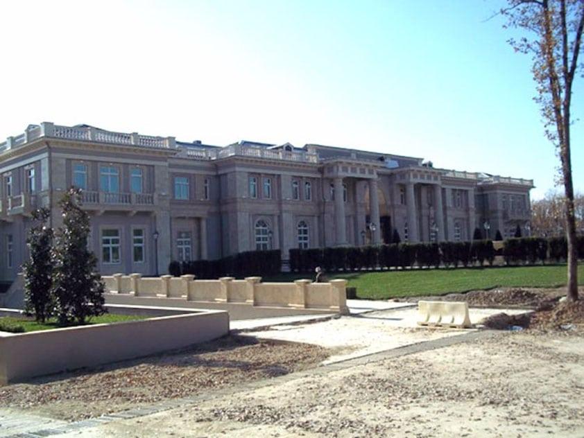palác exteriér