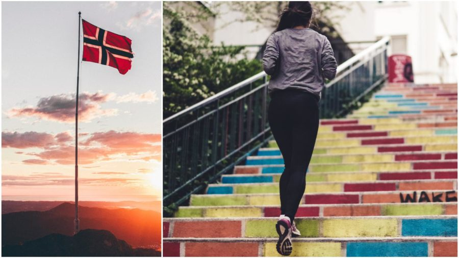 nórsko tréning