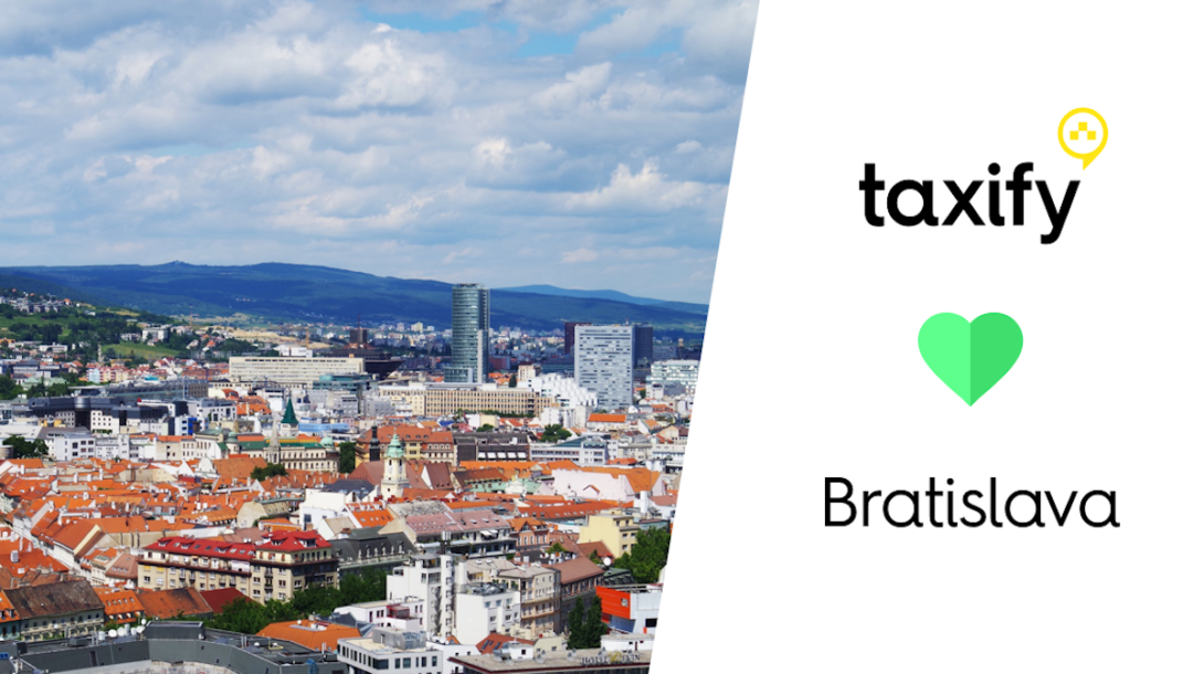 Taxify Bratislava 12.2016