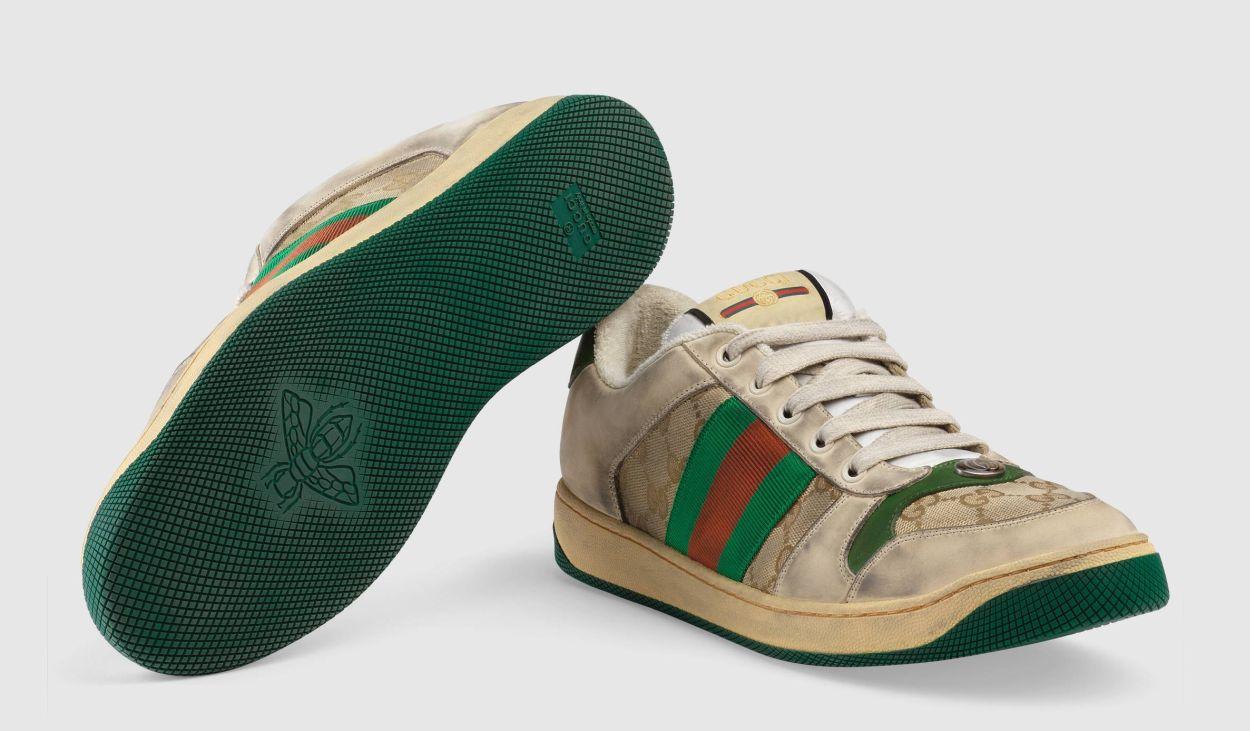 222b4beaf Špinavý luxus. Talianska značka Gucci začala predávať obnosené ...