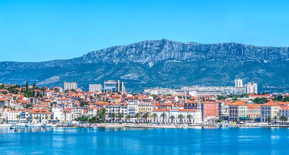 Split, Chorvátsko