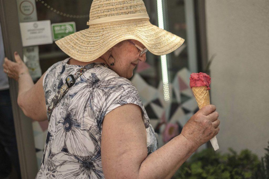 Na remeselnú zmrzlinu si treba počkať v rade. (Zdroj: Redakcia Startitup)