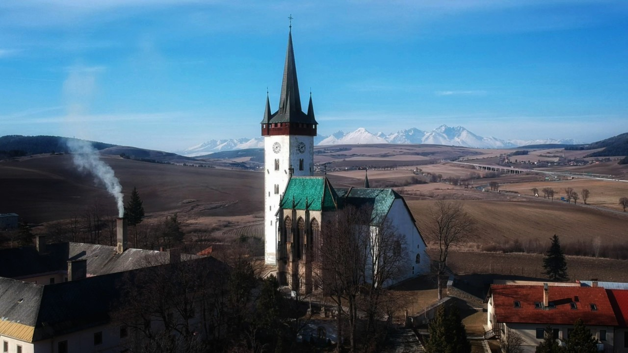 Cestovanie po Slovensku Kostol sv. Ladislava - Spišský Štvrtok