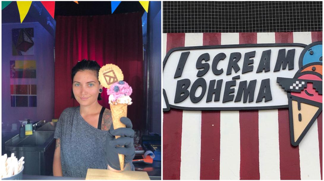 Zmrzlina Bohéma bar