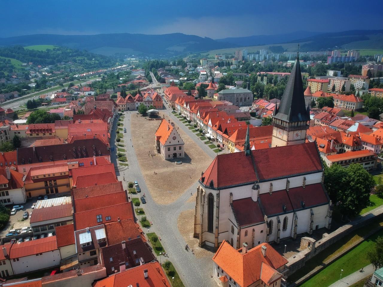 Cesty po Slovensku Historické centrum- Bardejov