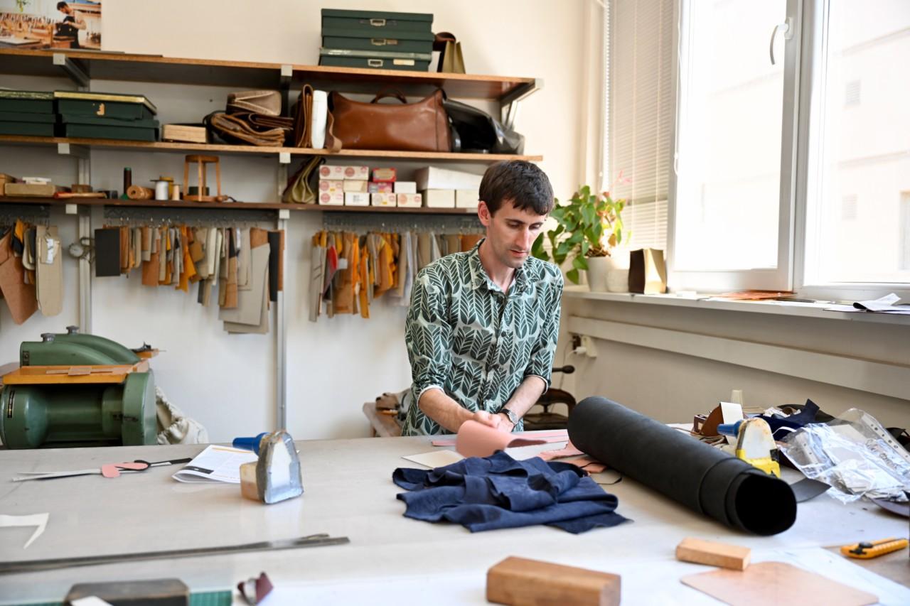 Bastien Boisanfray v ateliéri VERBUA zdroj: Startitup.sk