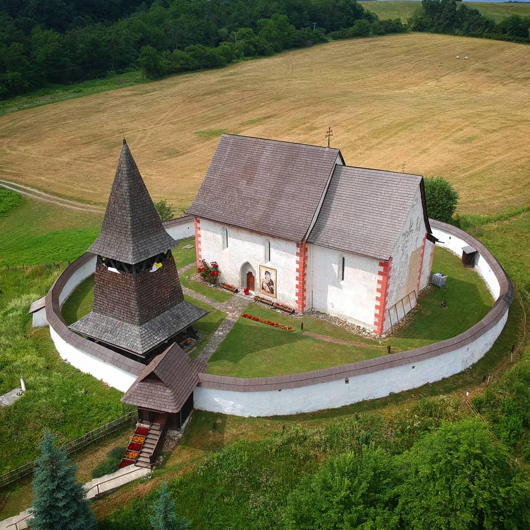 Cestovanie po Slovensku Kostol Sv. Martina - Čerín