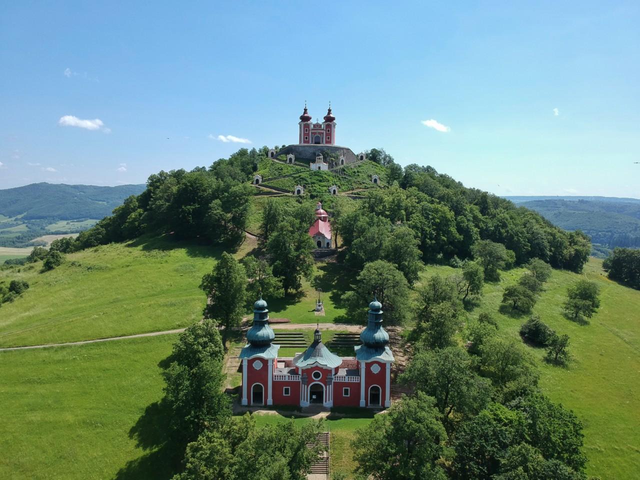 Cestovanie po Slovensku Kalvária - Banská Štiavnica