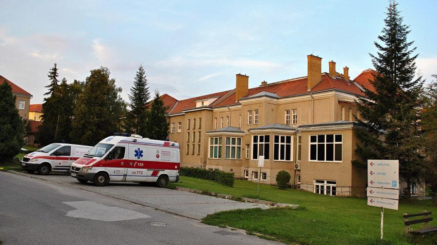 Levoča Všeobecná nemocnica s poliklinikou 2018 (Wikimedia, Patrik Kunec)