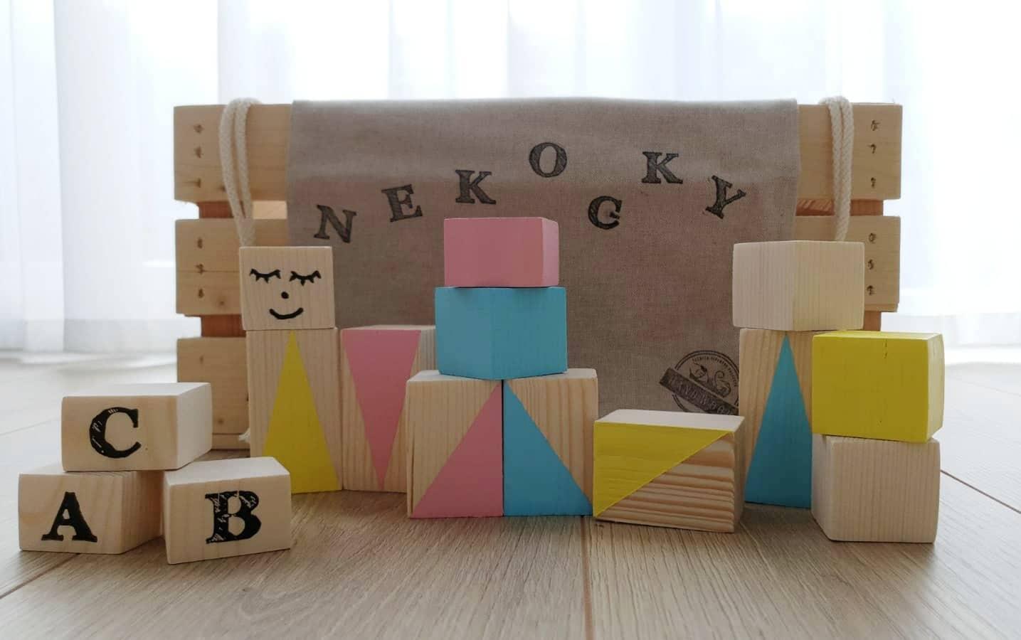 Nekocky/ Hand wood