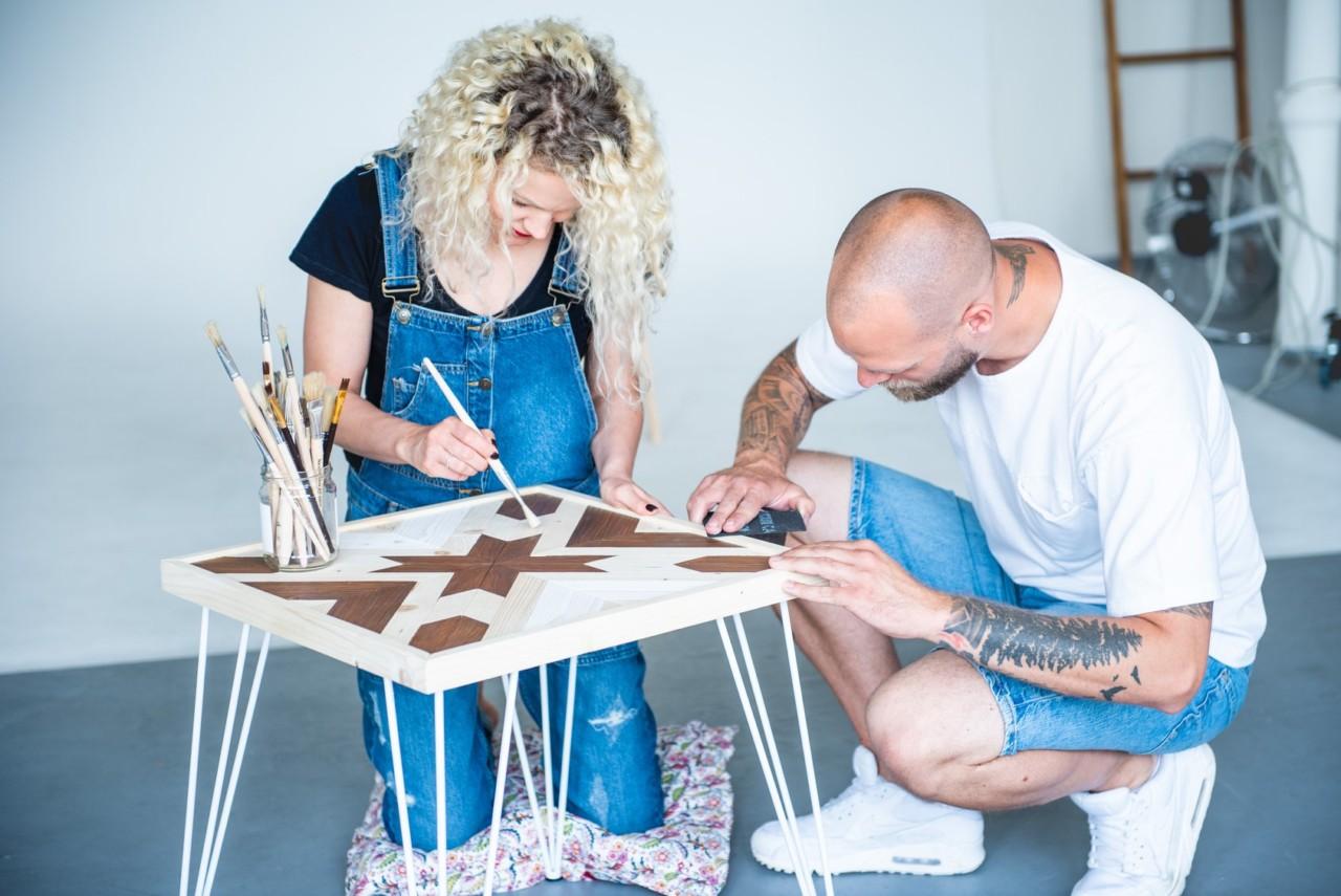 Lucia a Tomáš/ Handwood