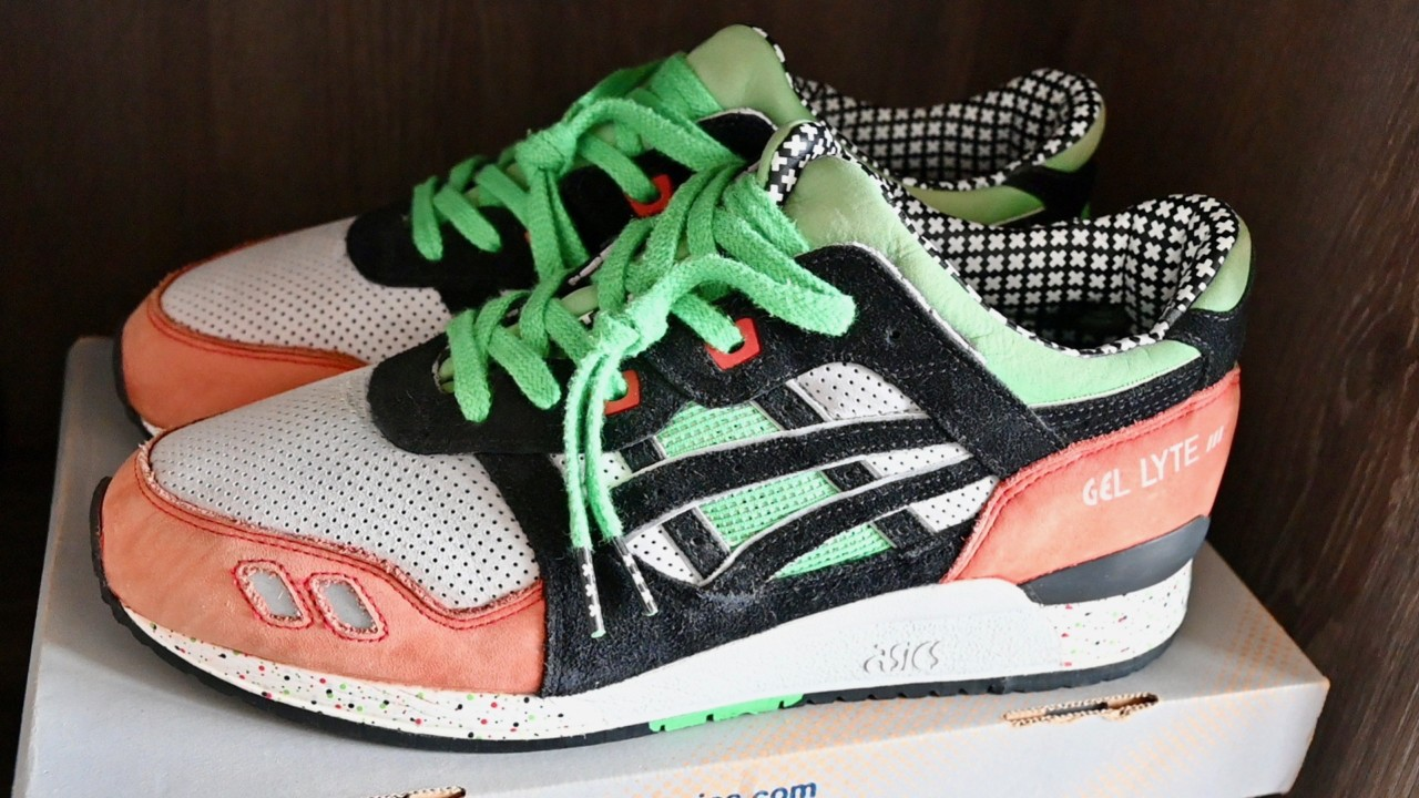 Asics Gel Lyte III Patta Exclusive: Startitup