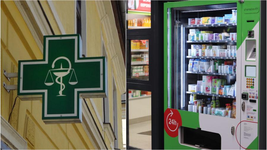 Ilustračný obrázok (pixabay.com), Automat (Dr.Max)