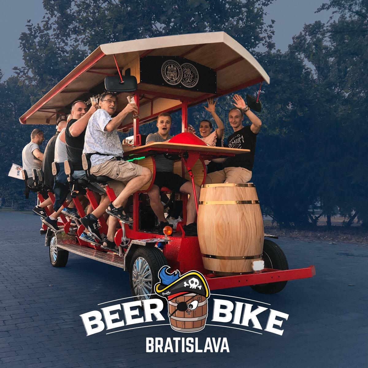 Baran/Beer Bike Bratislava