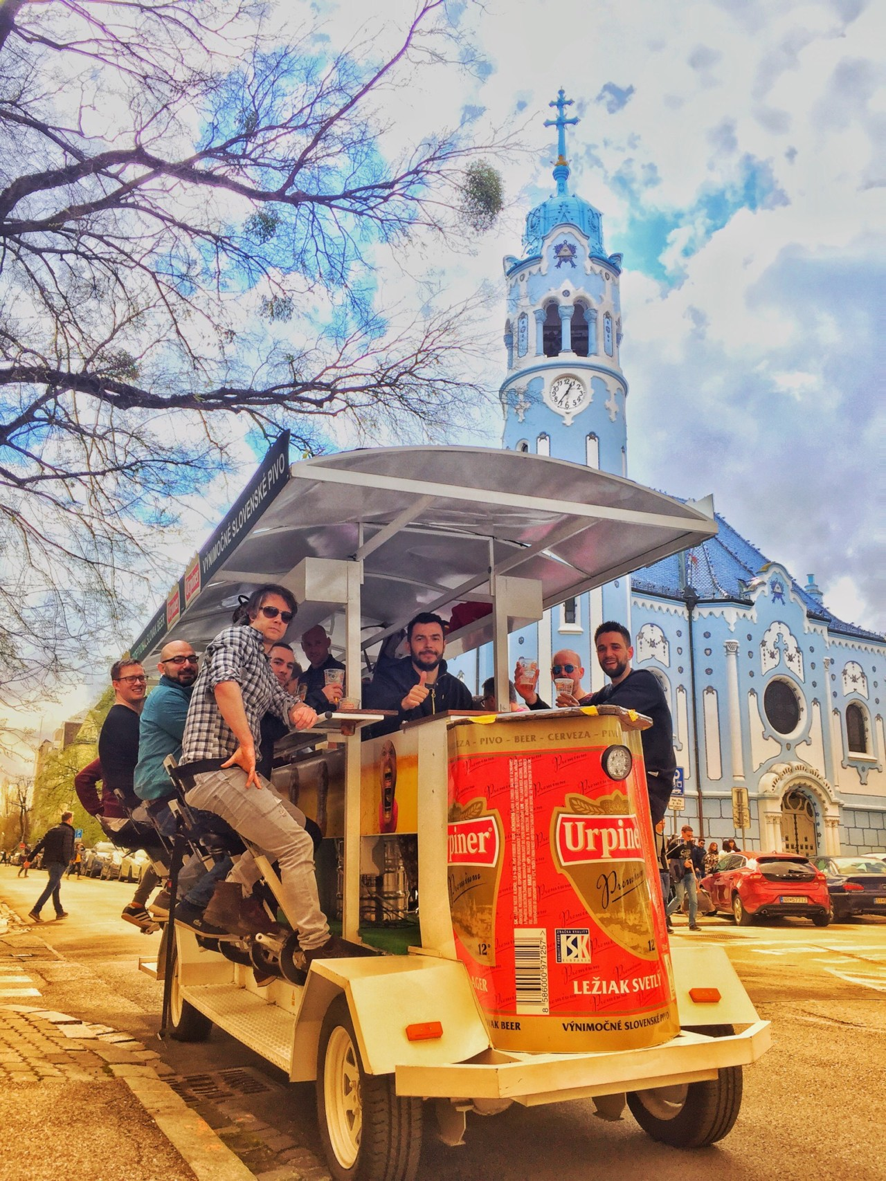 Krnoul/Beer Bike Bratislava