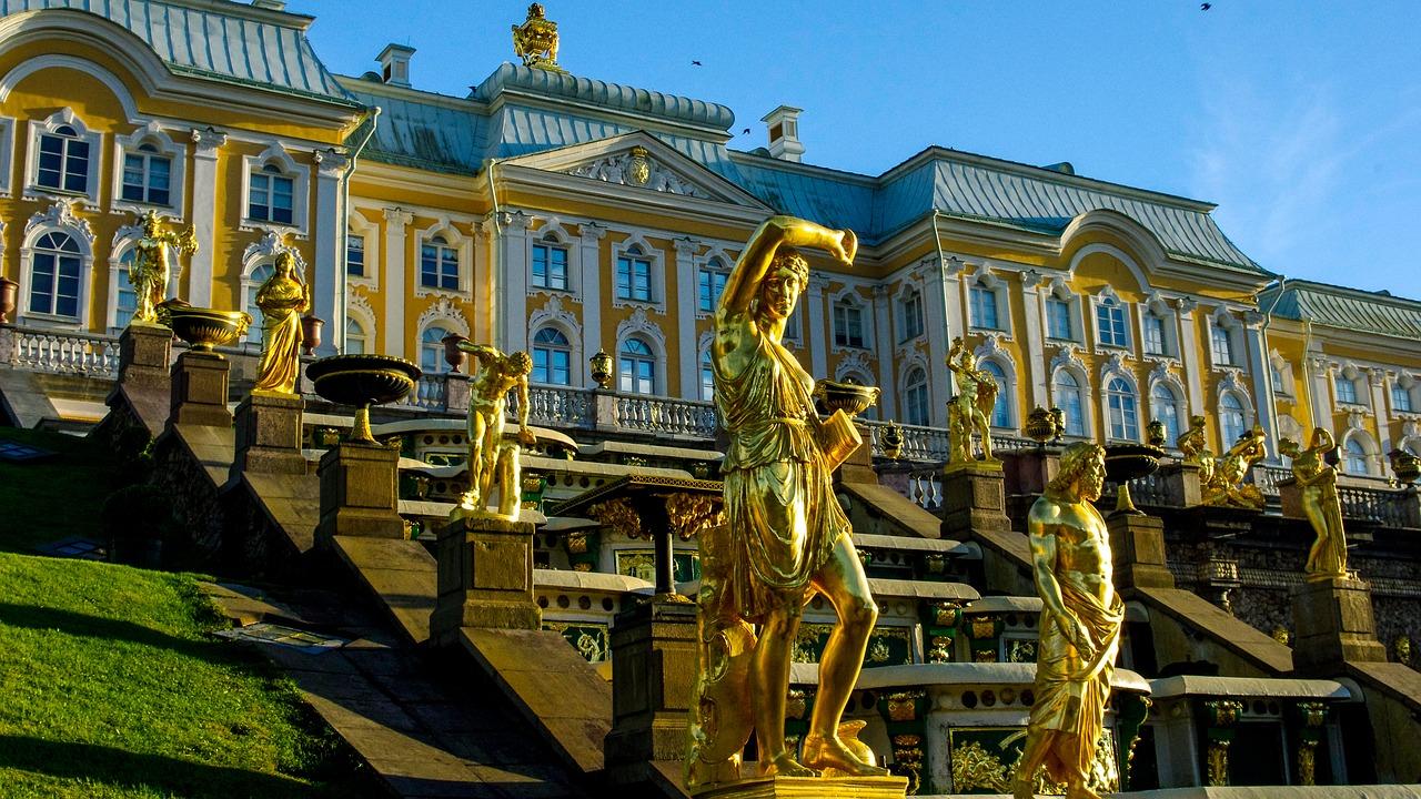 Peterhof, pixabay
