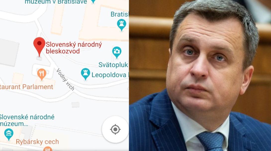 TASR/Screenshot googlemaps