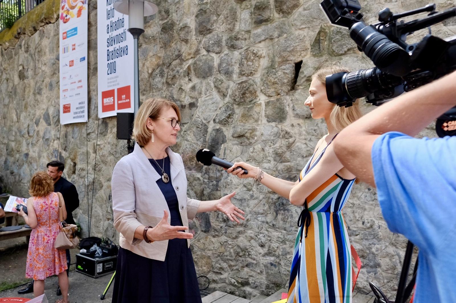 Lucia Štasselová/Bratislavské kultúrne leto/Magistrát