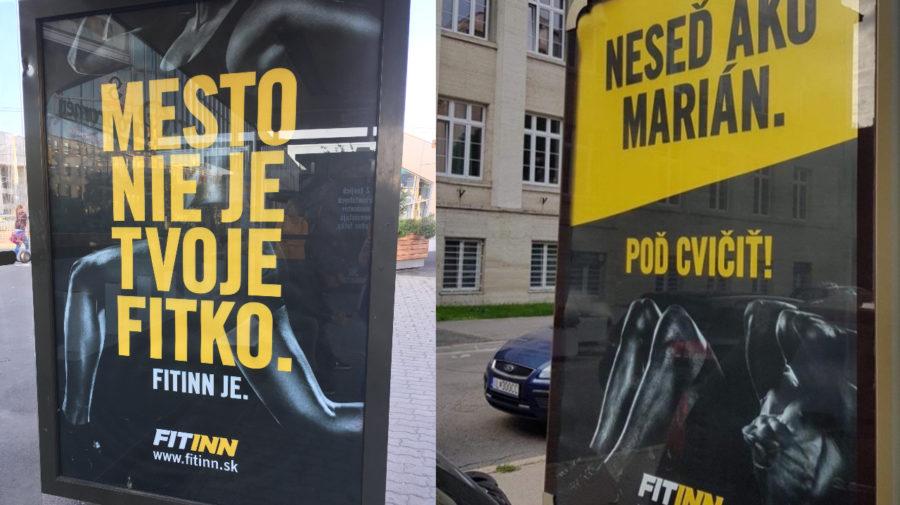 Billboardy Fitinn v Bratislave
