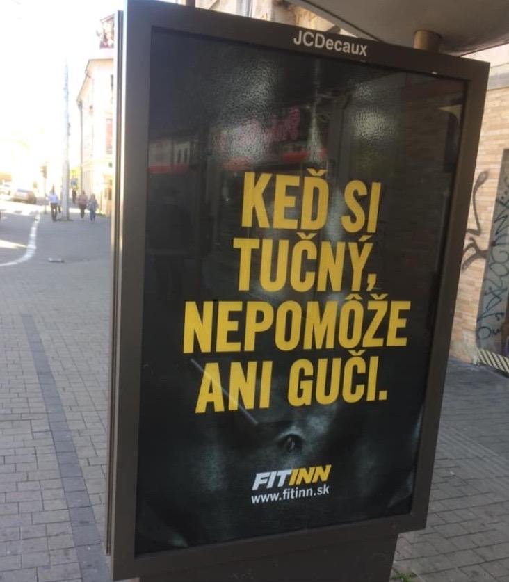 Bilboard FITINN/Tomáš Procházka