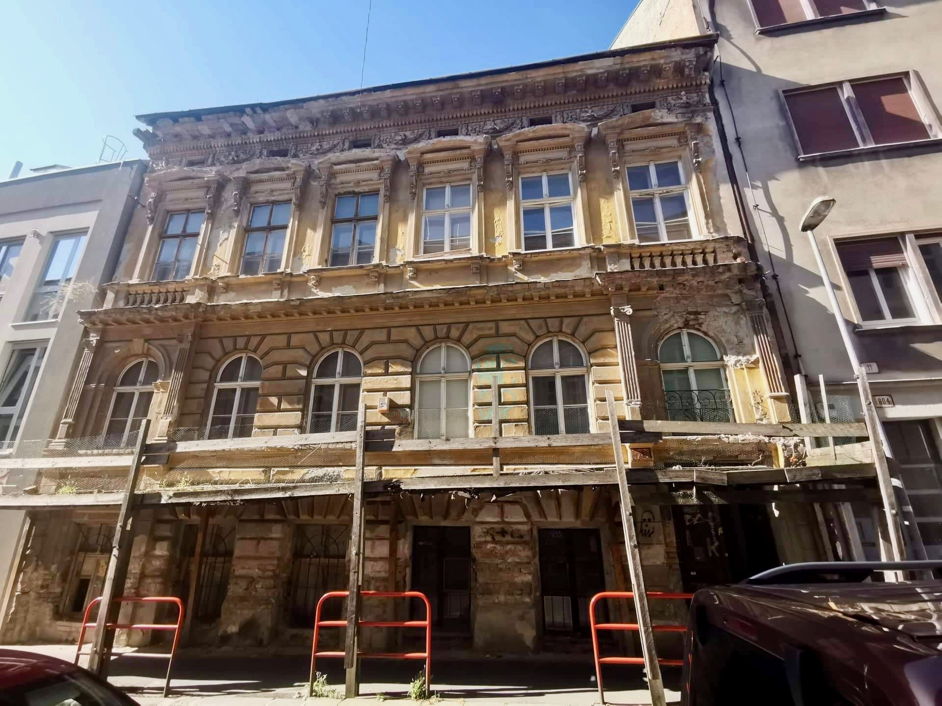Stavba na Kozej ulici/LUcia Štasselová