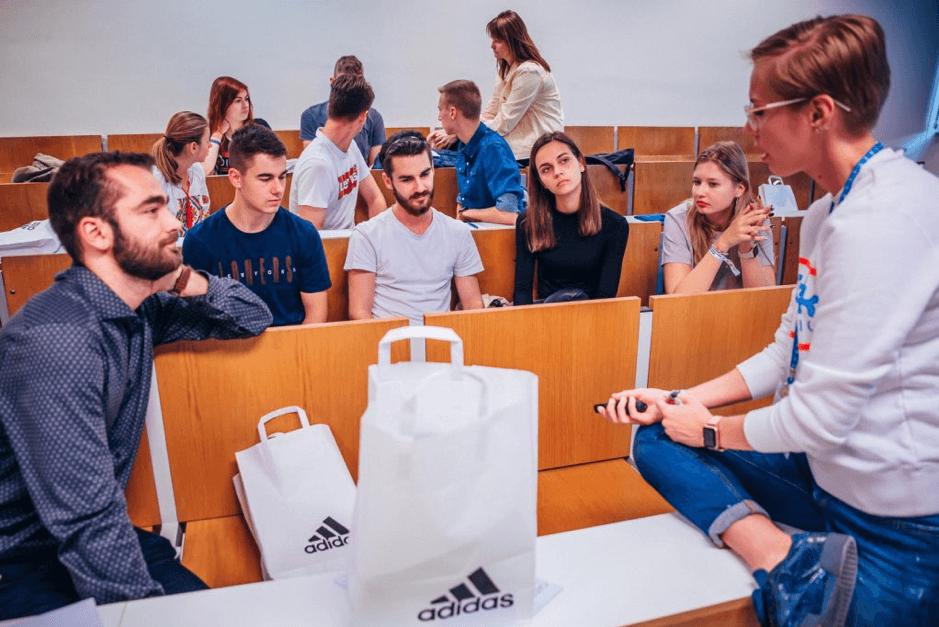 Workshop firmy adidas (Night of Chances Business 2018)