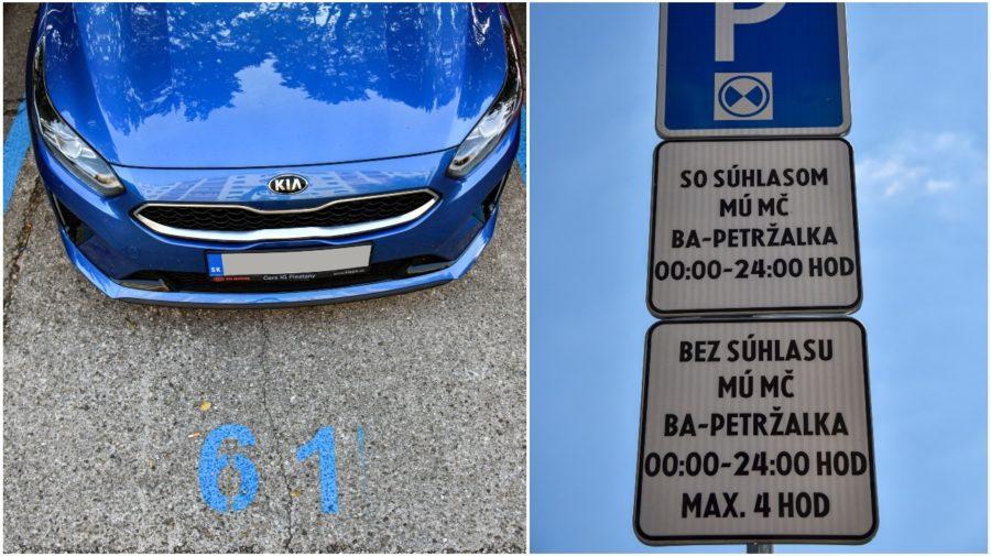 parkovanie petr