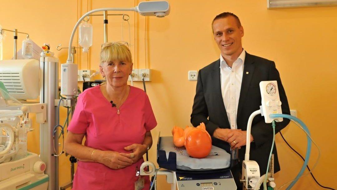 Zlava M. Gala, Lidl, E. Nemcova, primarka novorodeneckeho oddelenia