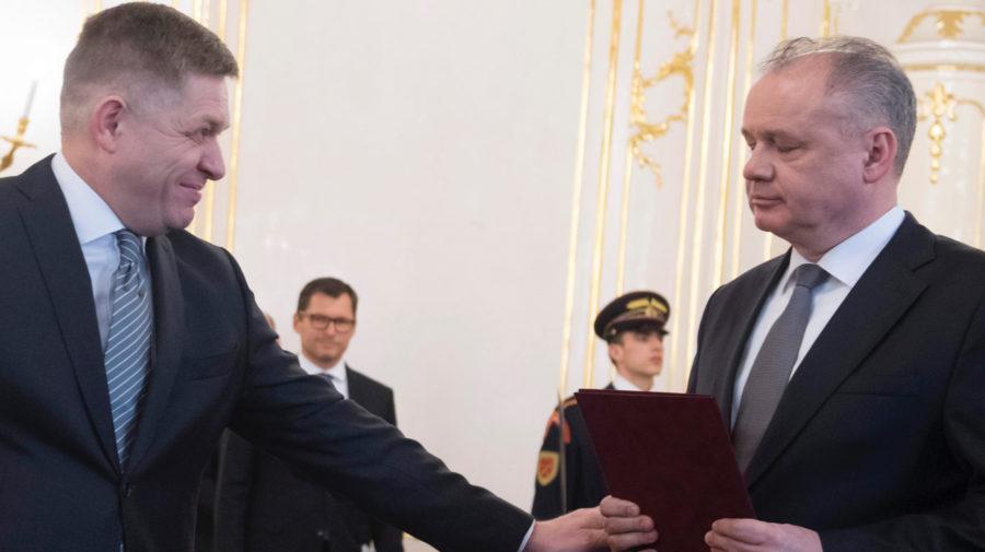 Andrej Kiska, Robet Fico