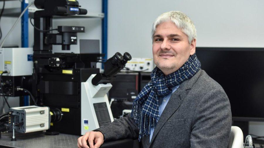 Na snímke vedec, biochemik Pavol Čekan
