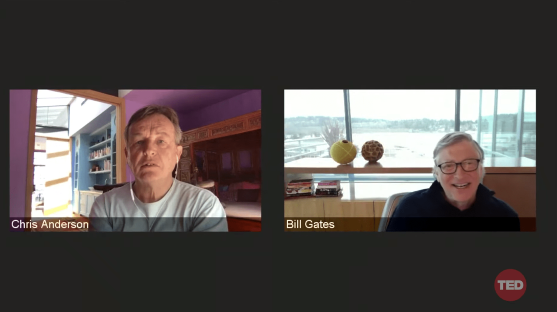 Bill Gates video konferencia