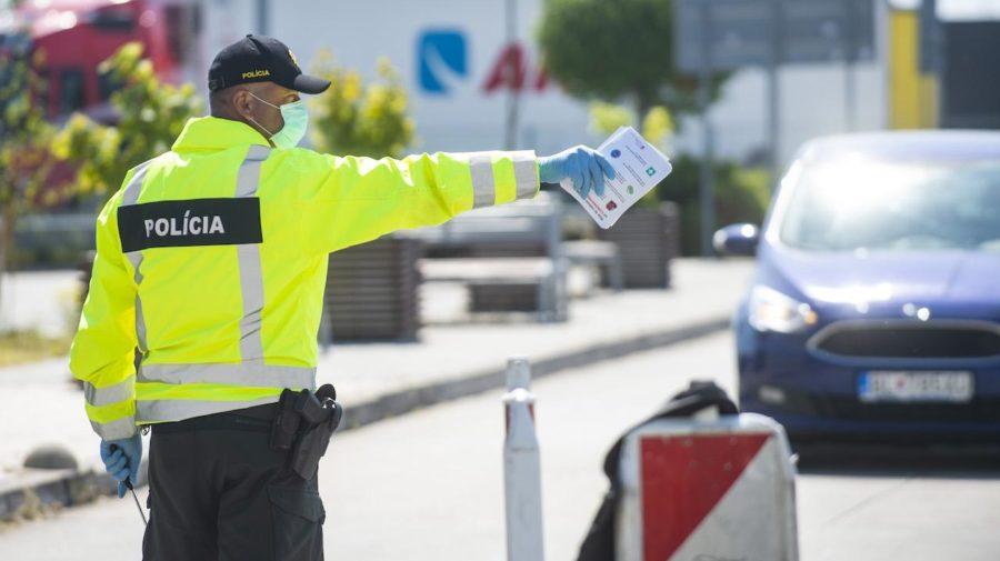 hranice polícia kontrola