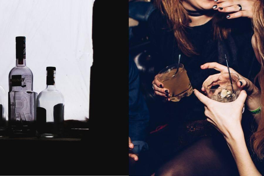 alkohol ženy
