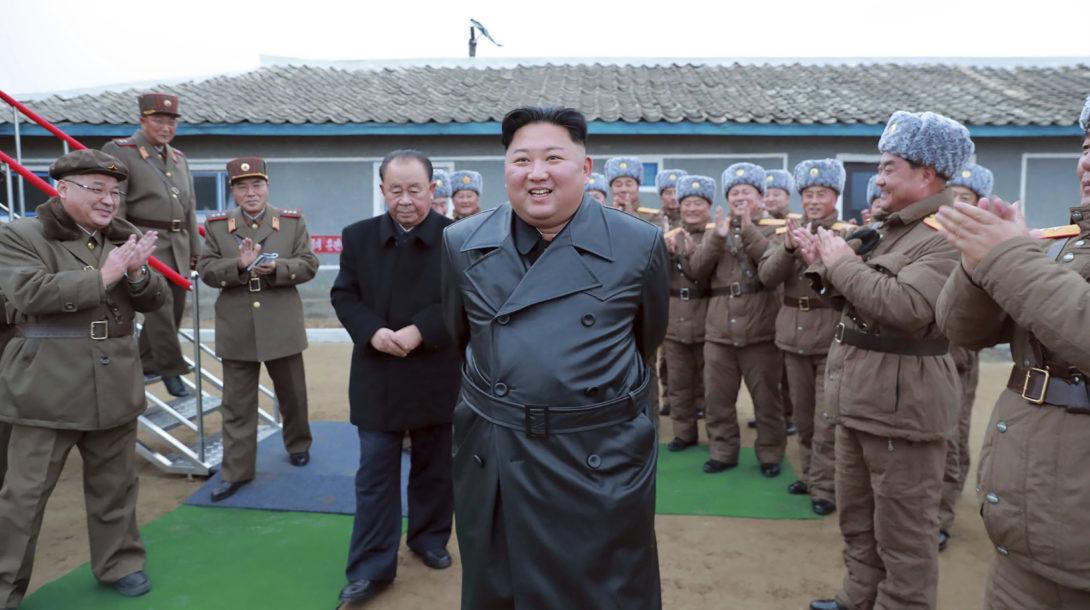 Severná kórea Kim