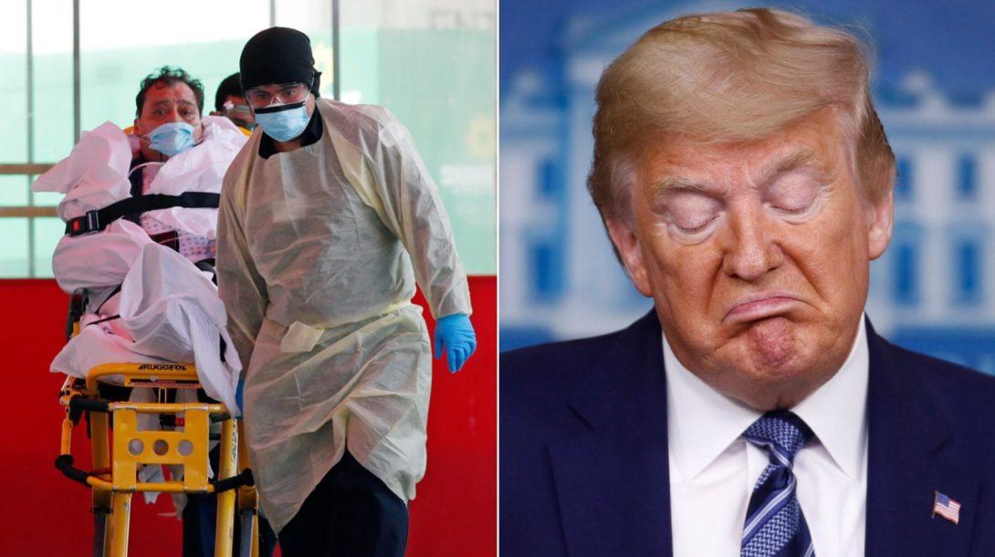 koronavirus, USA, Donald Trump