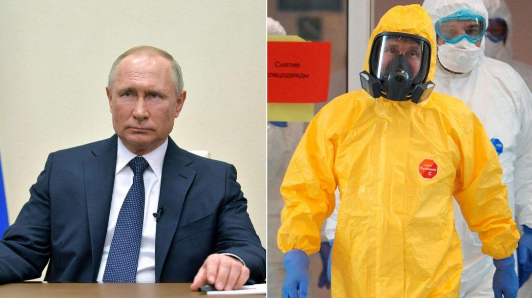 Putin Rusko koronavirus