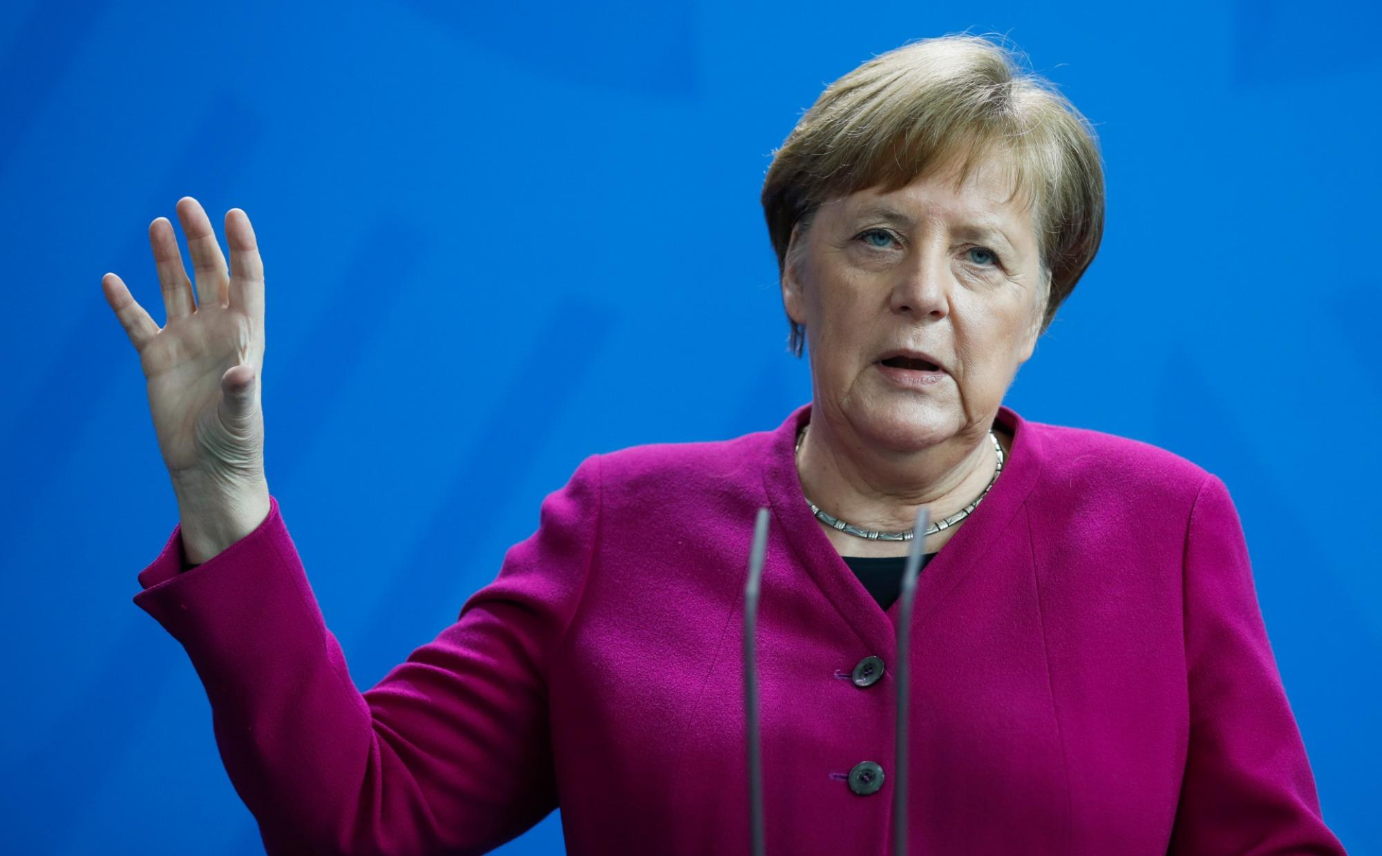 nemecko, merkelová, kancelárka,