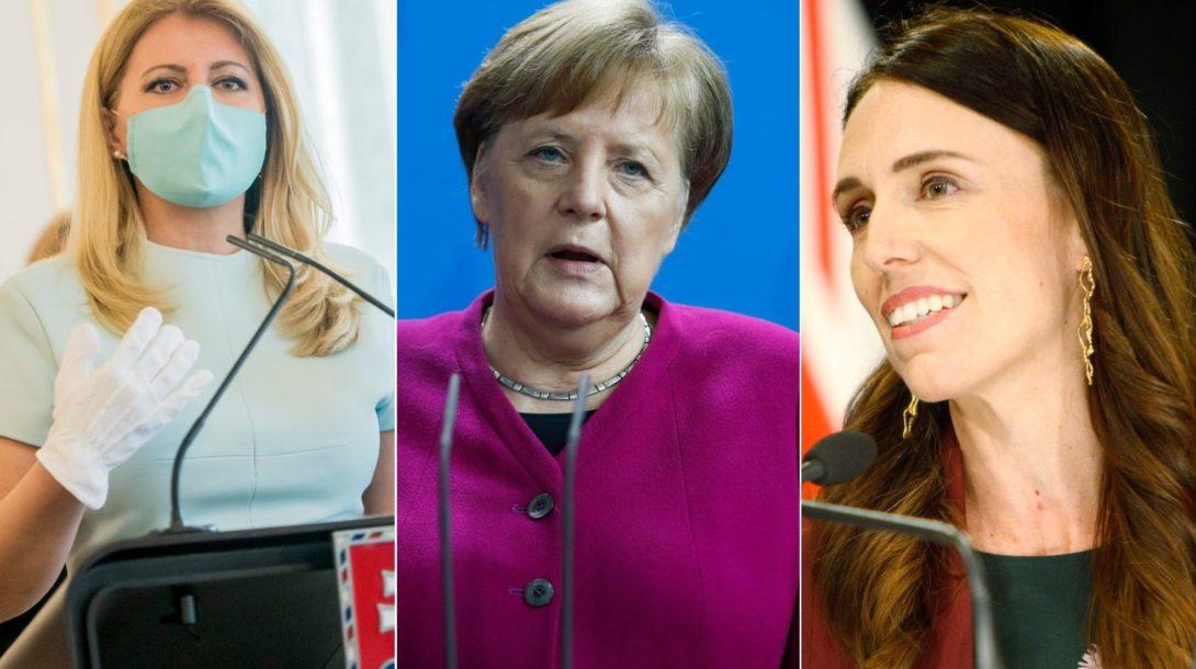 Jacinda Ardernová Merkelova čaputová nový zeland