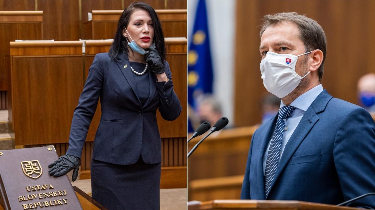 Nech sa SaS skonsoliduje, odkázal Matovič. Cigániková z koalície ...