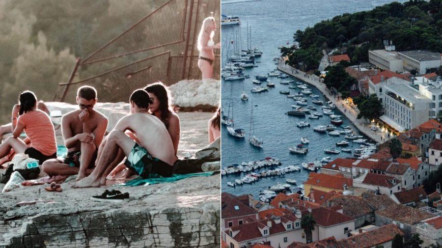 chorvátsko more