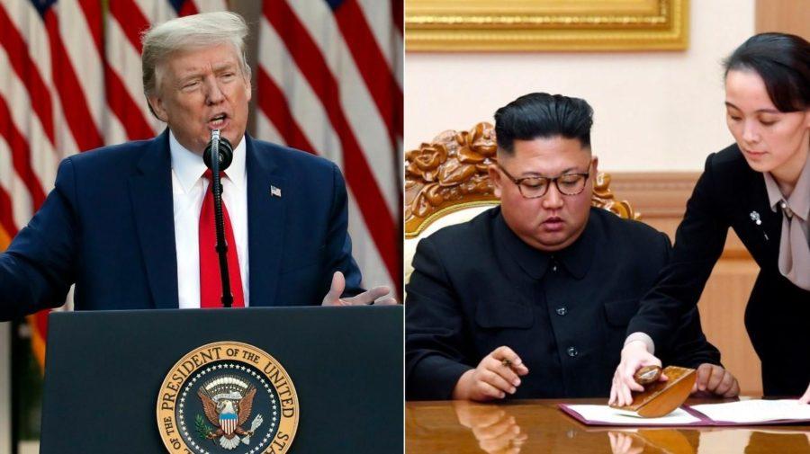 trmp kim USA severná korea