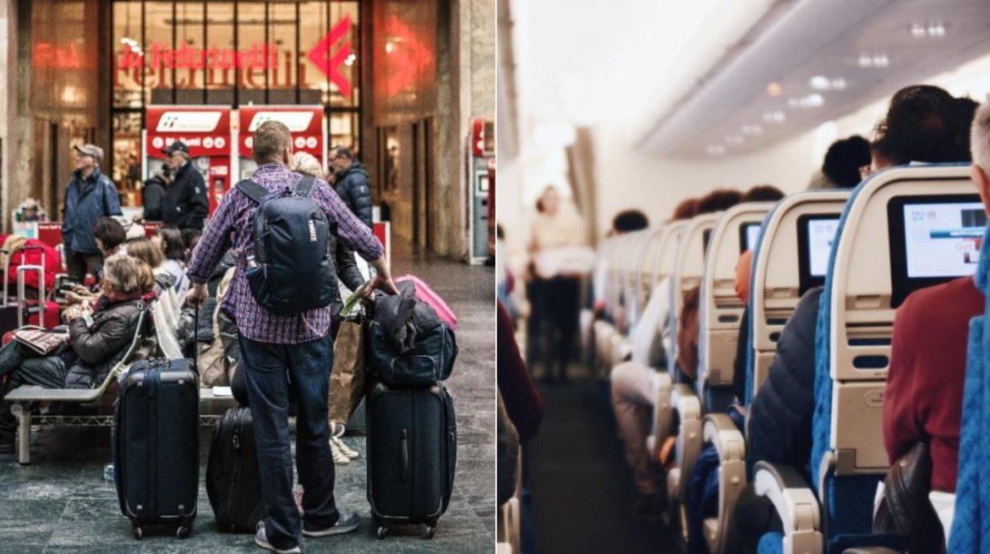 lietadlo cestovanie
