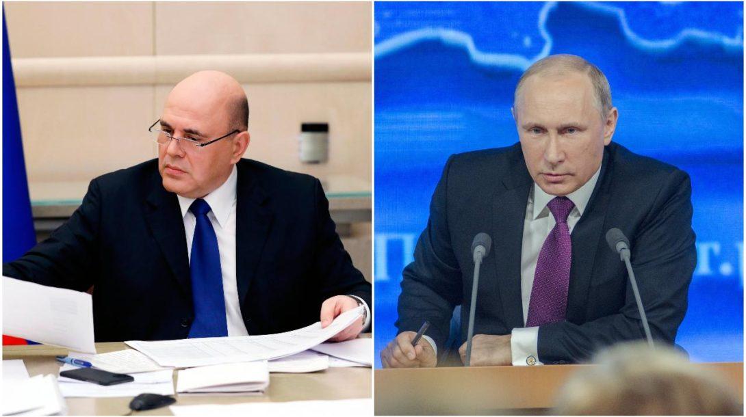 ruský premiér