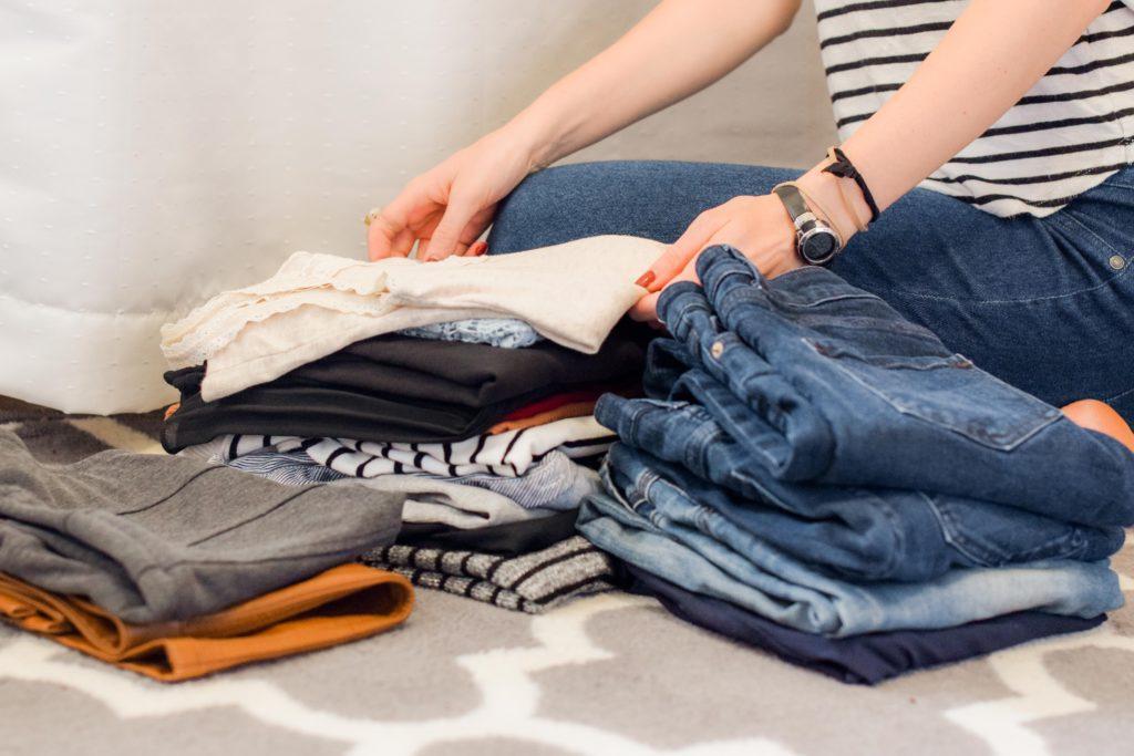 Predajte staré oblečenie